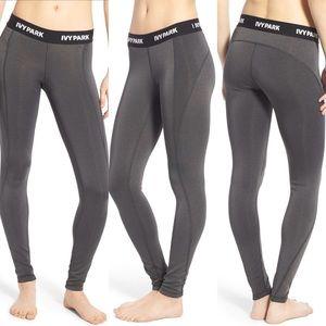 IVY PARK 'I' Low Rise Full Length Leggings